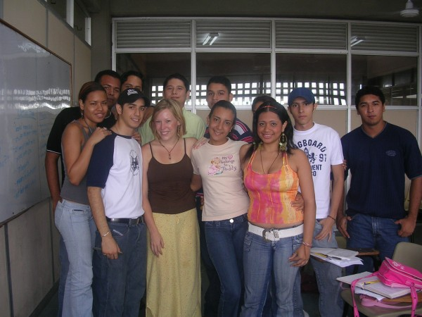 My first teaching gig - UTB in Cartagena, Colombia