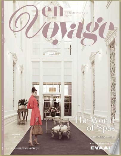En Voyage Cover August 2013