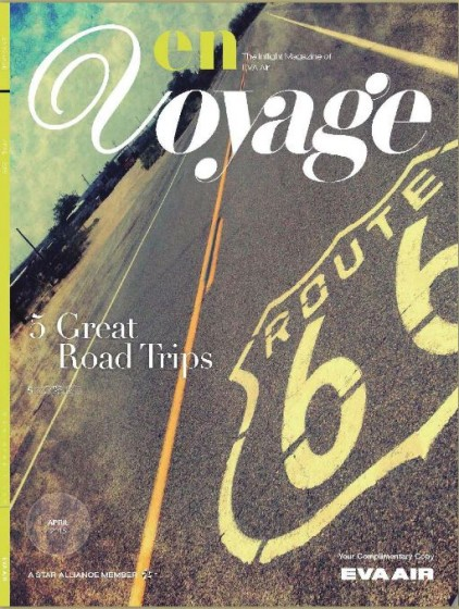 En Voyage cover April 2015