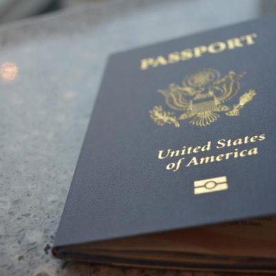 Kristin, Meet Your New Passport. Passport, Meet Kristin.