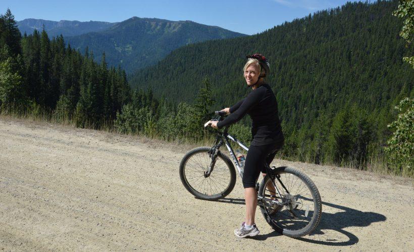 biking Idaho